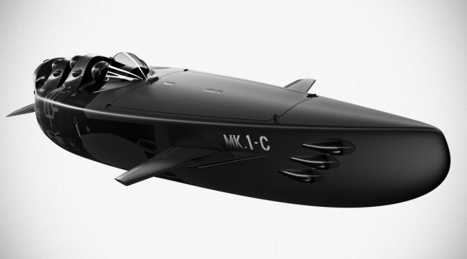 Ortega Mk. 1C Personal Submarine Is Both A Boat And A Submersible