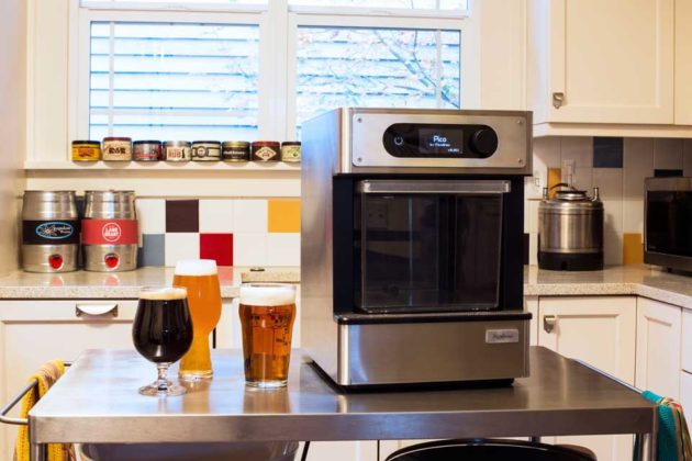 Pico Automated Beer Brewing Machine