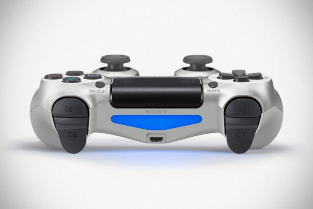 Silver Edition Playstation Dualshock 4 Controller