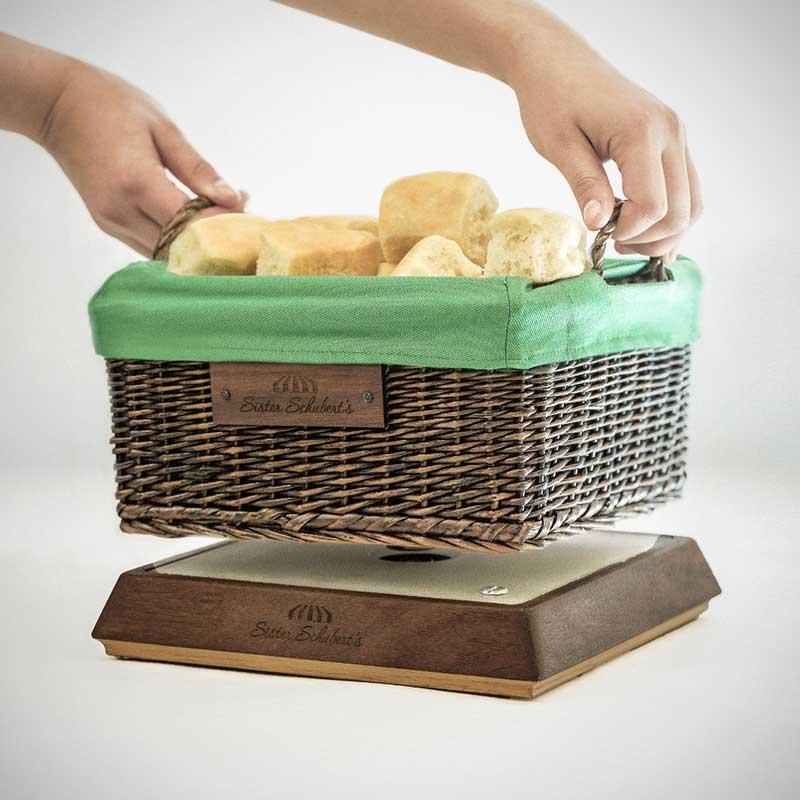 """Sister Schubert's """"Tech-savvy"""" Bread Basket"""