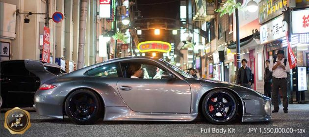 Slant-Nose Porsche Full Bodykit