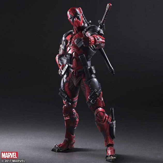 Square Enix Play Arts Kai Deadpool Action Figure