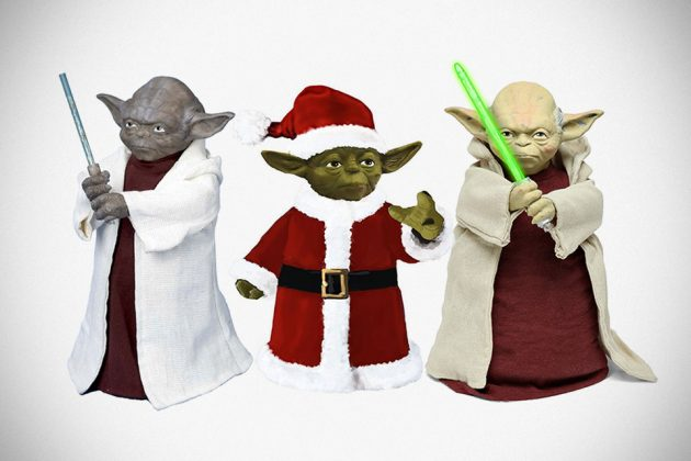 Star Wars Yoda Tree Toppers