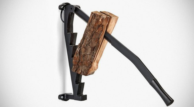 Stikkan Splits Wood Vertically And It May Just Save Your Back