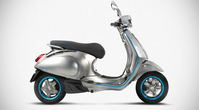 Vespa Goes Green With Planned Electrified Vespa, Arriving In 2017