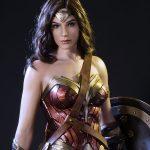 Hyperrealistic Wonder Woman Statue Has Incredible Life-like Skin With Veins!
