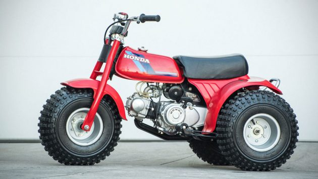1984 Honda ATC 70 Three-Wheeler Motorcycle