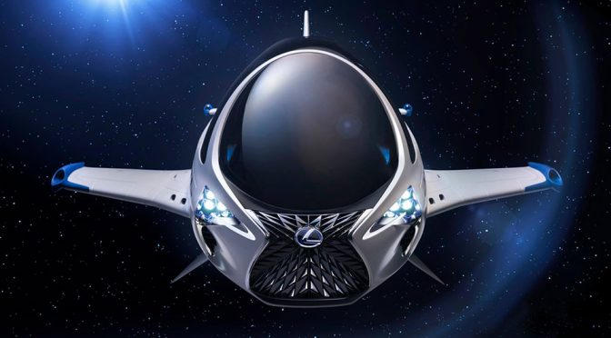 We Bet You Didn't Expect Lexus To Designed A Spacecraft But It Did