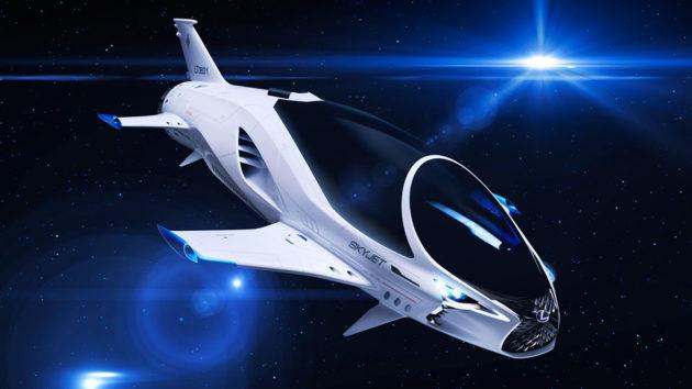 28th Century Spacecraft Lexus SKYJET