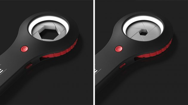 Aperture-inspired Adjustable Wrench by Jordan Steranka