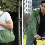 This Jacket Transforms Into A Bag And Vice Versa While Keeping Things Within