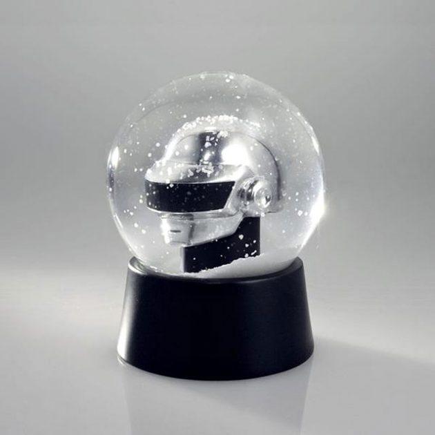 Daft Punk Silver Thomas Snow Globe