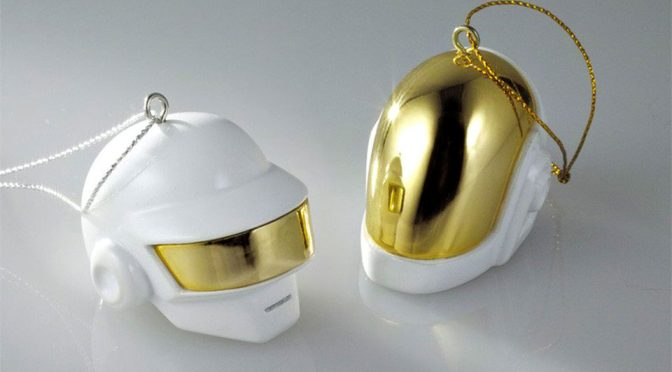 Daft Punk Spruced Up This Christmas With Ornament Set And Snow Globes