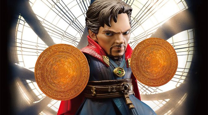 Beast Kingdom Egg Attack <em>Doctor Strange</em> Is <em>Wayyyyyy</em> Too Cute