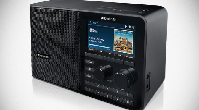 Grace Digital SiriusXM Sound Station Brings SiriusXM To Your Desktop