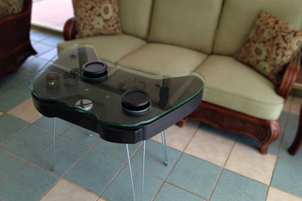 Xbox One Game Controller Coffee Table Is Xbox Fanboys Dream Come True Mikeshouts