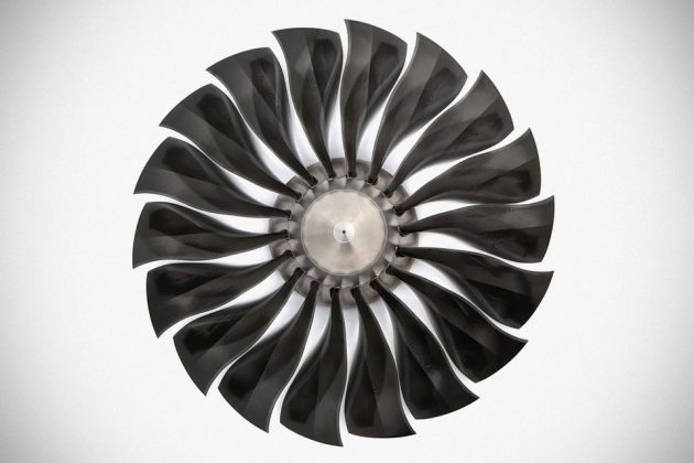 Jet Engine Fan Blades Ceiling Fan by Phighter Images
