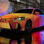 Lexus LED-Covered LIT IS Luxury Sedan Is More Like A Moving Disco/Billboard