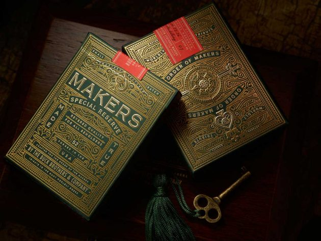 MAKERS Playing Cards Collectors Box Set by Dan and Dave