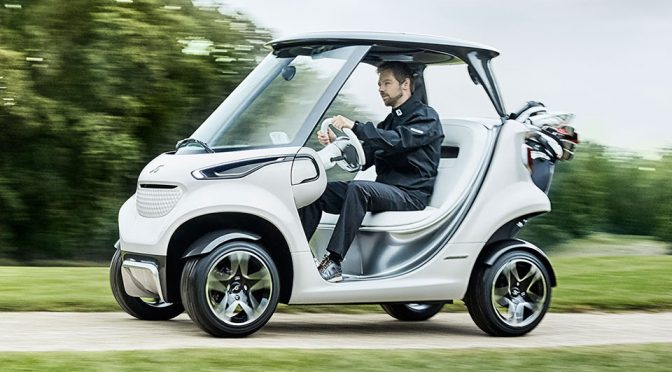 Mercedes-Benz And Garia Wants To Make Golf Cart Look More Like A Car