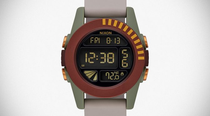 "Nixon The Unit Boba Fett Limited Reissue Watch Lacks ""Battle Scars"""