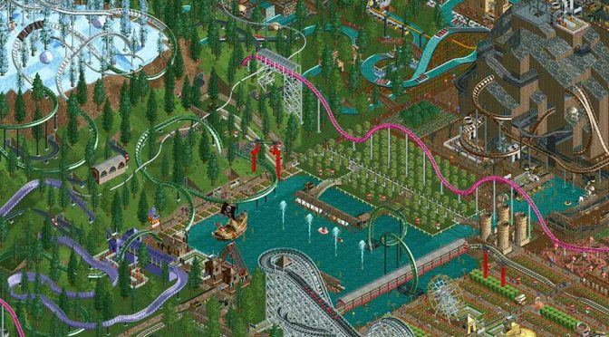 Original <em>RollerCoaster Tycoon</em> Theme Park Sim Turned Into Mobile Game