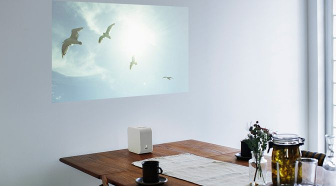 Sony Portable Ultra Short Throw Projector Projects More Than Videos