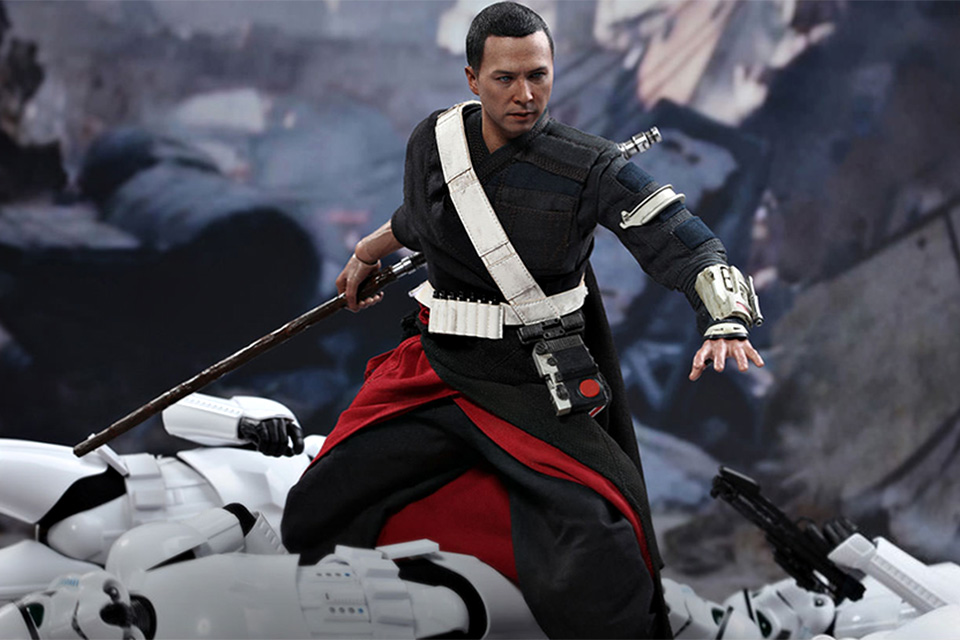 Star Wars Rogue One Chirrut Îmwe 1/6th Figure