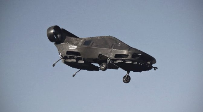 Unusual VTOL, Cormorant, Is What Future Helicopters May Look Like