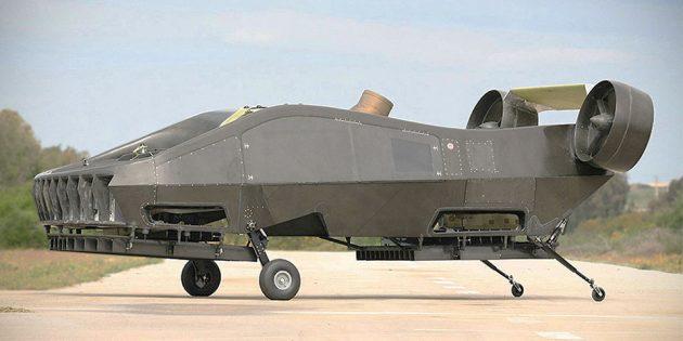 Tactical Robotics Cormorant VTOL UAV