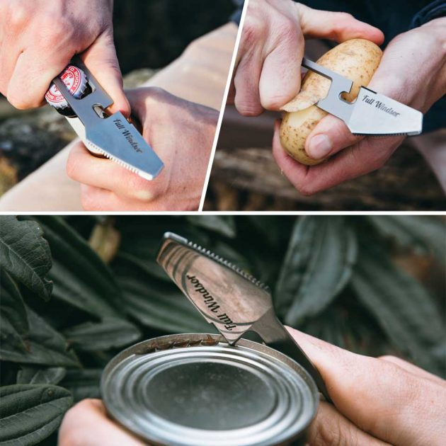 The Muncher Titanium Multi Utensil