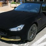 Velvet-wrapped Maserati Ghibli Is A Ride Fit For The Royalty