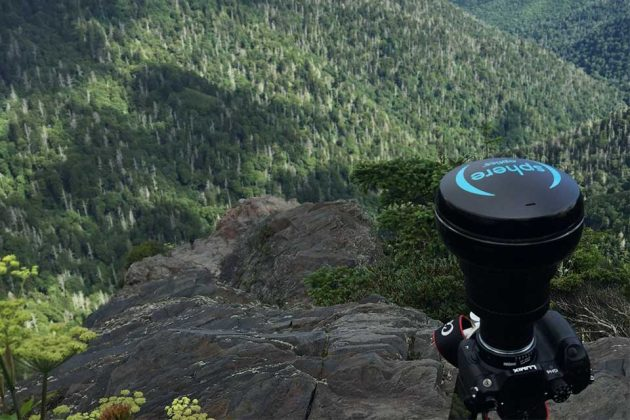 (sphere) 360-degree Lens for DSLR by Sphere Optics Company