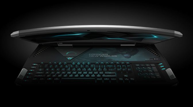 World's First Curved Screen Laptop Is Monstrous In Size And So Is Its Price