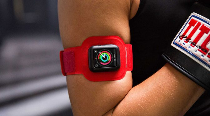 ActionSleeve Armband, Because Apple Watch Is Not Just For The Wrist