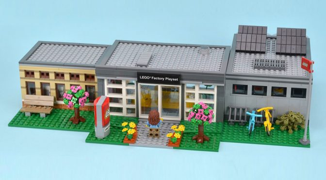 Custom LEGO Factory Playset Fulfils Your Fantasy Of 'Working' At LEGO