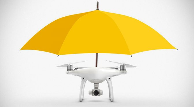 Hands Free Umbrella Drone from DronesDirect