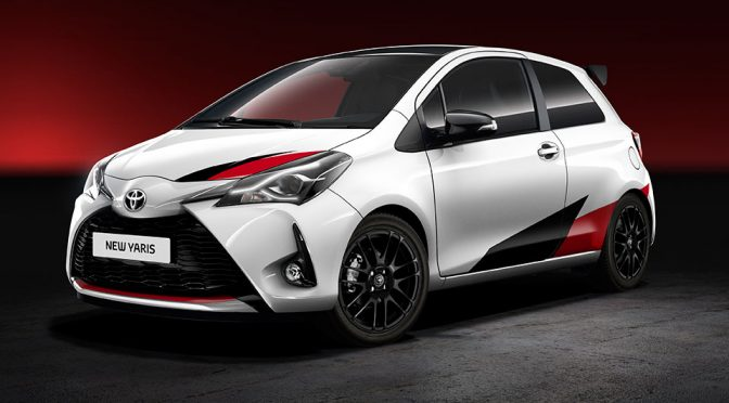 'High Performance Derivative' Of The 2017 Toyota Yaris Looks Kinda Hot!