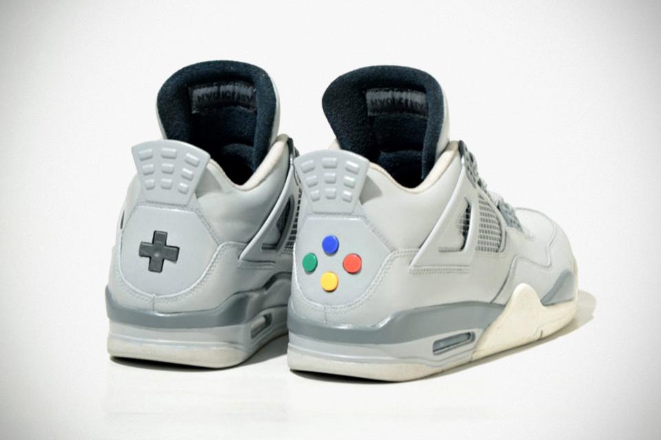 """Jordan """"Super Nintendo"""" IV by Freaker Sneaks"""