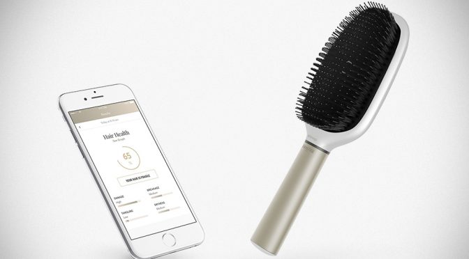 The World's First Smart Hairbrush Tells You What's Going With Your Hair