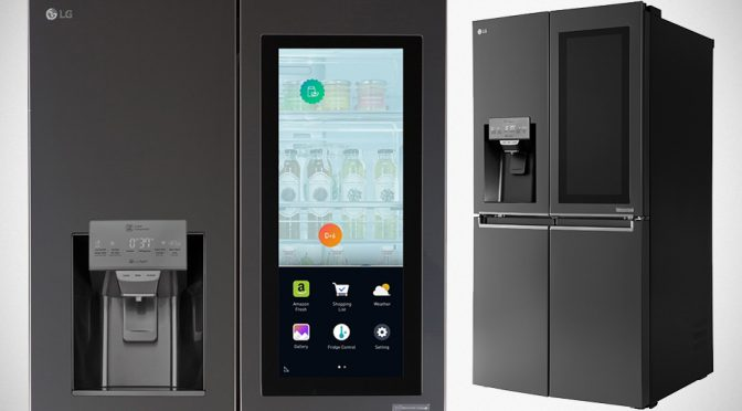 LG Has A Fridge That Lets See What's Inside Without Opening The Door