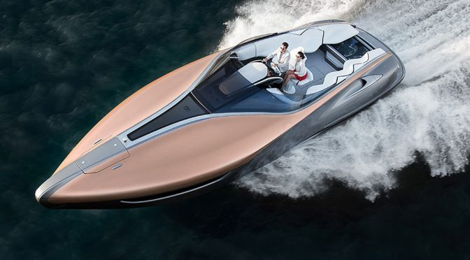 Twin V8 Powered Seafaring Lexus Is Pretty But, Sadly, Won't Be Produced
