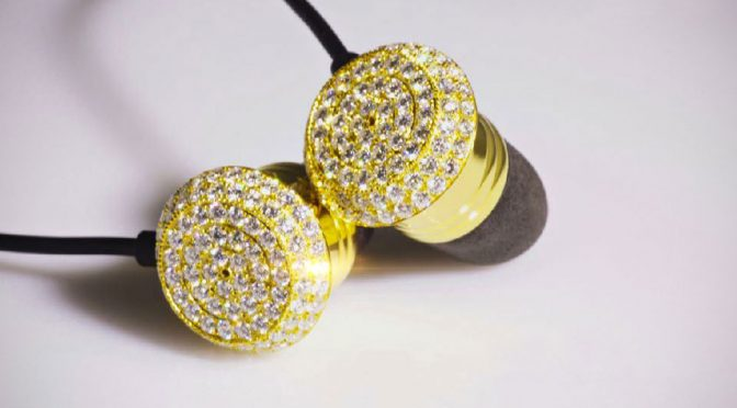Brikk Marks Chinese New Year In China With 3 Carats Diamonds Headphones