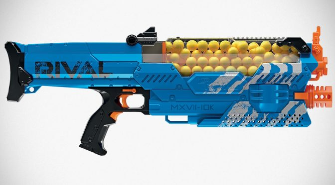 NERF Rival Nemesis MXVII-10k Made Unlimited Firing A Possibility