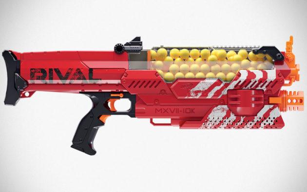 NERF Rival Nemesis MXVII-10k Foam Ball Blaster