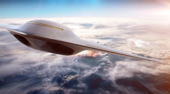 Suborbital Passenger Jet Will Make London To New York In Two Hours