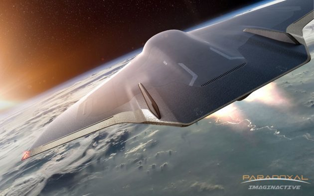 Paradoxal Supersonic Passenger Jet by Charles Bombardier
