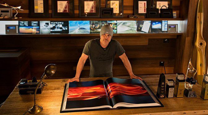 Veteran Photographer's Photo Book Weighs As Much As A Small Person!