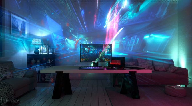 Project Ariana: Light And Video Projection System by Razer