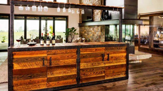 Sommi Credenza Series Wine Bar